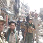 """تقرير مصور من أزقة """"السرجخانة"""" الضيقة في الموصل لمبلغي لجنة الإرشاد وهم ينقلون بأمانة سلام ودعاء المرجعية وتوصياتها للأبطال في الشرطة الاتحادية والرد السريع"""