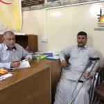 الشعبة الطبية في لجنة الإرشاد والتعبئة تتبنى علاج جريح آخر من الحشد الشعبي في خارج العراق