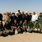 مبلغو لجنة الارشاد يوصلون سلام ودعاء المرجعية وتوجيهاتها للمرابطين في محور قضاء الحضر جنوب غرب الموصل ويقدمون دعمهم اللوجستي للمجاهدين