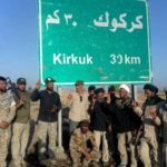 """بالصور … مبلغو محور الطوارئ ومحور مكحول في لجنة الإرشاد يشاركون المقاتلين بتحرير اخر معاقل """"داعش"""" في قضاء الحويجة جنوبي غرب كركوك، وينقلون سلام ودعاء المرجعية للأبطال"""
